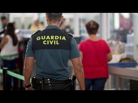 Στην εθνοφρουρά η ασφάλεια του αεροδρομίου της Βαρκελώνης