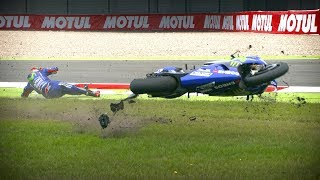 Video Watch the best crashes from the 2017 MotoGP™ season! MP3, 3GP, MP4, WEBM, AVI, FLV Juli 2018