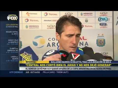 Declaraciones de Guillermo post Central 1-0 Boca