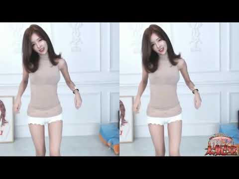 韓國美女主播 超短裙舞蹈8