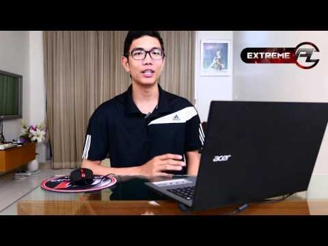Acer Aspire E15 E5-552G-T3EL ขุมพลัง AMD A10 8700P Carrizo+Dual Graphics รีวิว by ExtremePC[FULL HD]