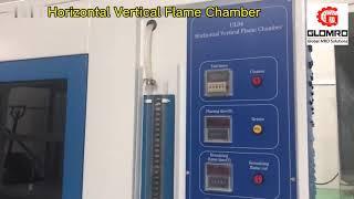 glow wire burning test machine horizontal vertical burning test machine youtube video