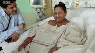 Eman Abd El Aty também fez dieta especial à base de líquidos; ela vai permanecer internada para perder mais peso.
