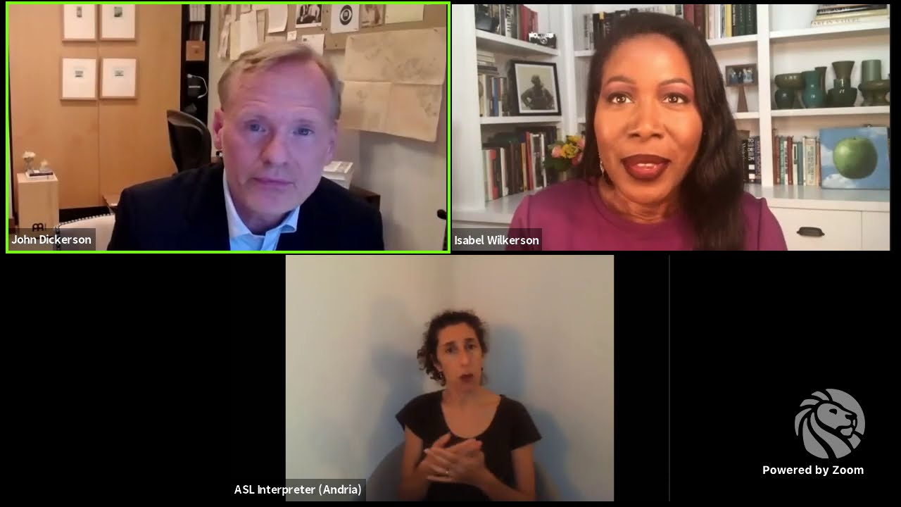 Caste in America: Isabel Wilkerson with John Dickerson   LIVE from NYPL