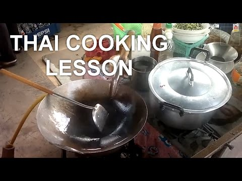 Bangkok Thai Cooking Lesson at the Neighborhood Temple