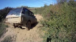 4x4 Range Rover Classic 3.9 Dans Bourbier A Salives