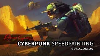 Cyberpunk speedpainting