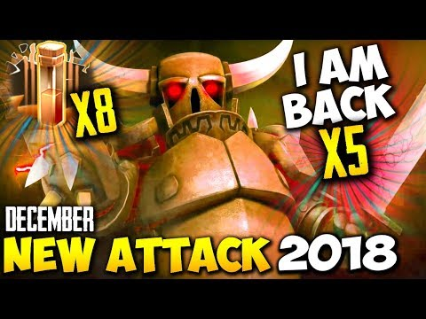 8 EARTHQUAKE + 5 PEKKA: NEW TH9 SUPER STRONG WAR ATTACK STRATEGY 2018 | Clash Of Clans