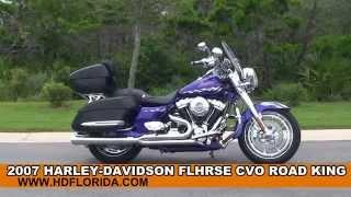 9. Used 2007 Harley Davidson CVO Road King Motorcycles for sale in Pensacola, FL