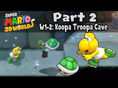 Super Mario 3D World - Part 2: World 1-2