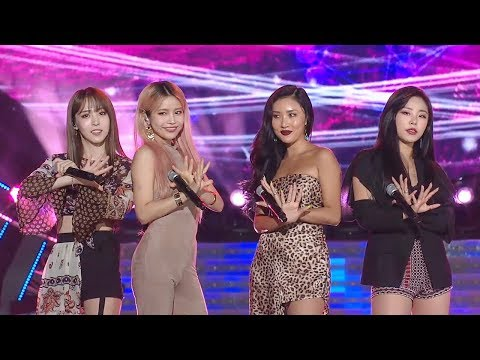 MAMAMOO - Egotistic + Starry Nightㅣ마마무 - 너나 해 + 별이 빛나는 밤 [SBS Super Concert In Suwon Ep 1]