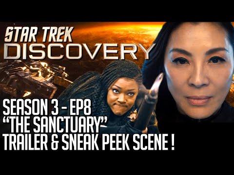 Star Trek Discovery Season 3 Episode 8 Trailer & Sneak Peek Scene!
