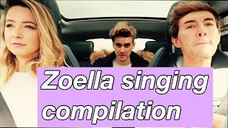 Video Zoella singing compilation ft Mark Joe and Alfie | Sophie Emilia MP3, 3GP, MP4, WEBM, AVI, FLV Juli 2018
