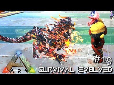 ARK: ANNUNAKI GENESIS MOD - DRAGON BABY !!! S2E19 (Gameplay POOPING EVOLVED)
