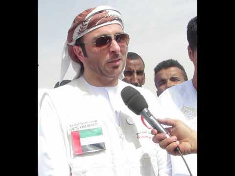 بالفيديو.. تدشينات للهلال الأحمر الإماراتي في قرية اللقاء