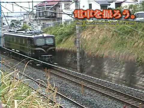 EF58-61+ソ301操重車