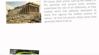 Introduction To Literature And The Environment - Lecture 4: Greek Metaphysical Thinking