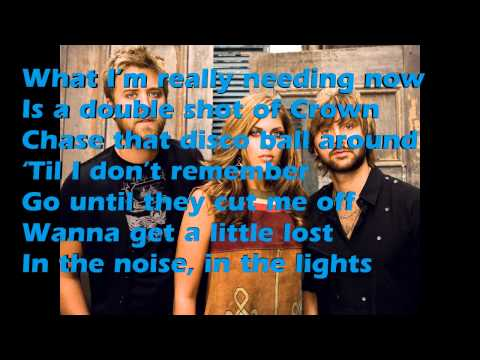 Lady Antebellum- Bartender Lyrics Video