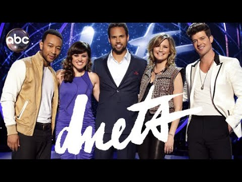 Kelly Clarkson on ABC Duets 2012