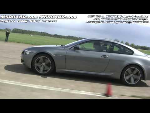 BMW M6 vs. BMW M5