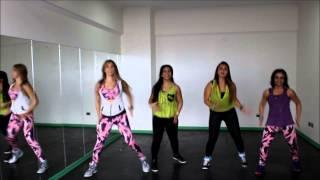 la la la la  Shakira  Zumba Fitness  Romy Sibel CHILE choreography