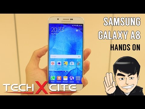 Hands On : Samsung Galaxy A8 [TH/ไทย]