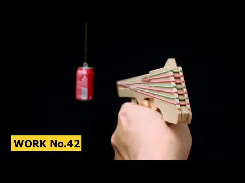 Nicked Ramp-Releaser, 8 rounds Rubber Band Hand Gun/ oggcraft.jp