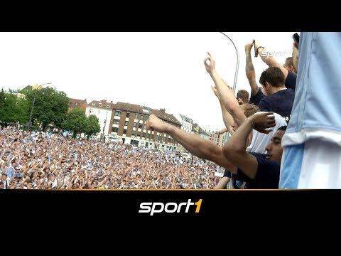Ekstase! So wild feiert 1860 München den Aufstieg | SPORT1 - REGIONALLIGA