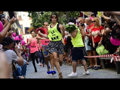 Gay Pride in Madrid: Wettrennen in High Heels