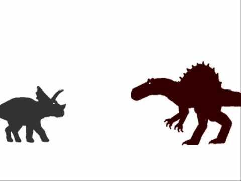 PDFC - Triceratops vs Spinosaurus