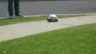 RC Drift Team D-Style Side Walk Sweeper Practice