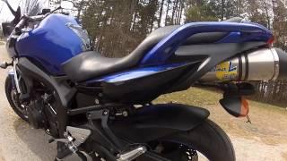 4. 2007 Yamaha FZ6