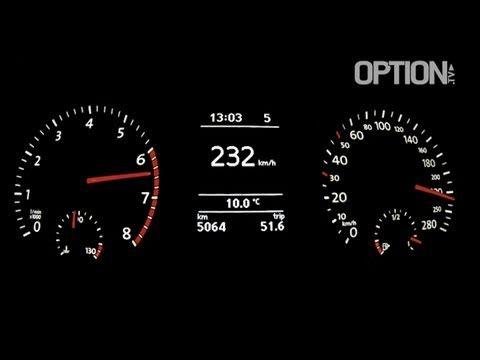 232 km/h en Volkswagen Scirocco 2.0 TSI (Option Auto)