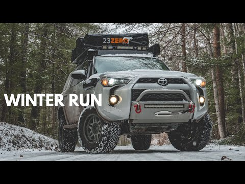 S2:E4 4Runner snow camping in single digits