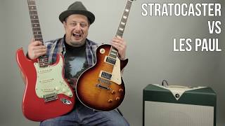 Video Les Paul vs Stratocaster - Which Guitar Do You lIke More? Marty's Thursday Gear MP3, 3GP, MP4, WEBM, AVI, FLV Juni 2018