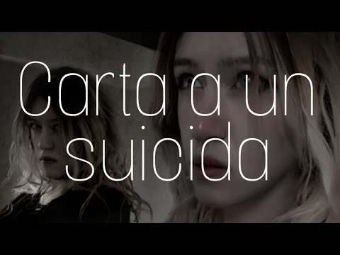 Carta a un SUICIDA - ASMR