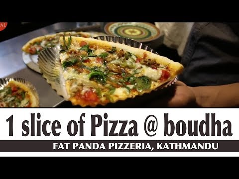 (Fat Panda Pizzeria Boudha Kathmandu - Food Nepal - Duration: 5 minutes, 50 seconds.)