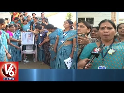 Anganwadi Workers Express Thanks To CM KCR | Salaries Hike