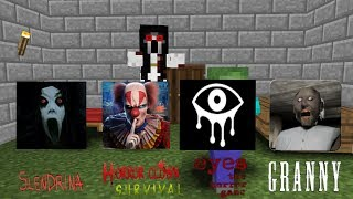 Video Monster School:Granny,Slendrina,Clown survival,Eyes horror game-Minecraft Animation MP3, 3GP, MP4, WEBM, AVI, FLV Juni 2018