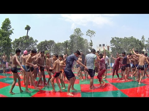 Indian Rain Dance At Anandi Water Park