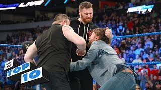 Nonton Top 10 SmackDown LIVE moments: WWE Top 10, March 20, 2018 Film Subtitle Indonesia Streaming Movie Download