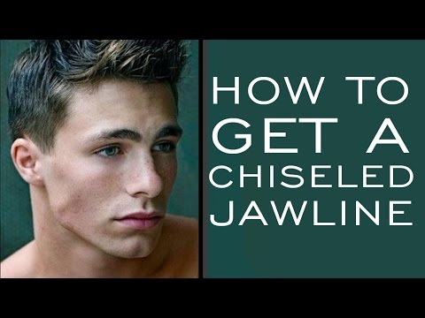HOW TO HAVE A CHISELED JAWLINE   5 Tips for Stronger Jawline for Men