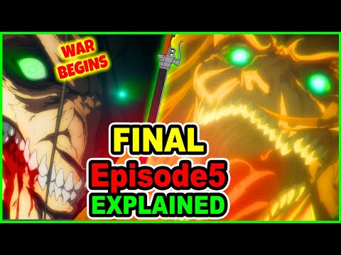 INSANE! Eren Declares War! Great Titan War Explained | Attack on Titan Season 4 Episode 5