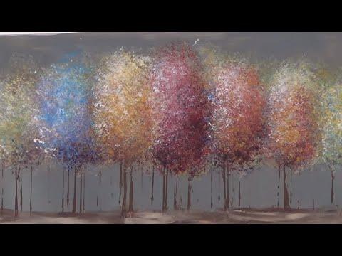 Arvores coloridas