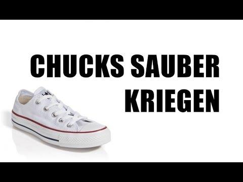 CHUCKS &andere Schuhe RESTLOS SAUBER KRIEGEN?   LIVE - TEST