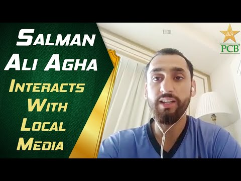 Salman Ali Agha Interacts With Local Media | PCB | MA2T