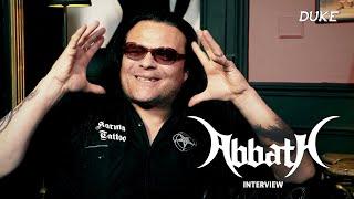 Abbath - Interview - Paris 2019 - Duke TV