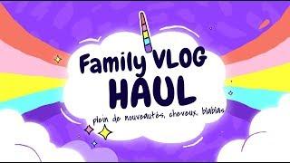 ♥♥♥ Family VLOG + HAUL cheveux, blablas, etc. ♥♥♥