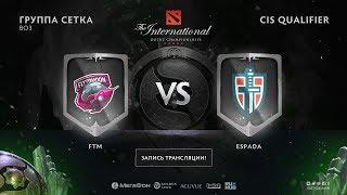 FTM vs Espada, The International CIS QL, game 3 [Maelstorm, Lost]
