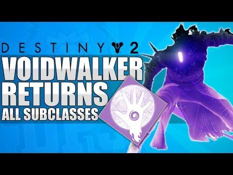 Destiny 2: Voidwalker / Nova Bomb Is Back! All Subclasses In D